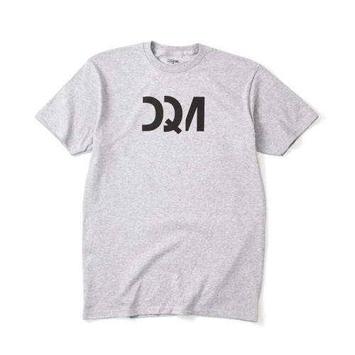 DQM MUNARI GRAPHIC T-SHIRT HEATHER GRAY