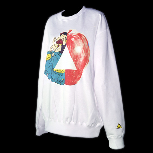 """Snow-White"" printed sweatshirts"