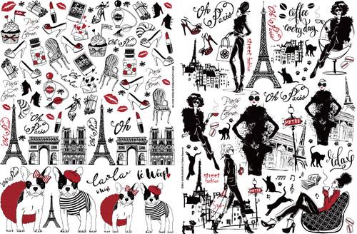 Paris.style 転写紙
