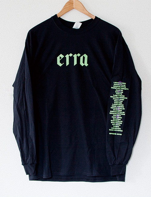 【ERRA】2019 Tour Long Sleeve (Black)