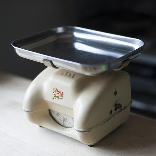 '53 INCA SUPER kitchen scale キッチンスケール (swiss)