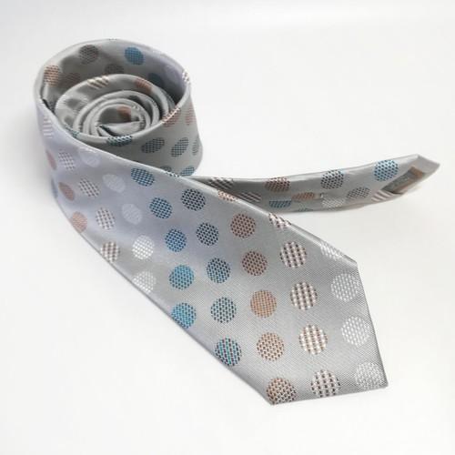 スティッチでできたドットのネクタイ Stitched Dots -0030