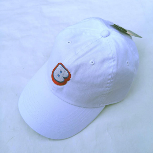 "Bamboo ""B"" Logo Cap ""White"""