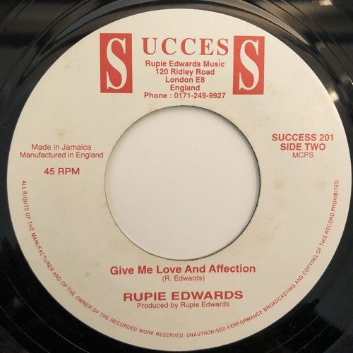 Rupie Edwards - Give Me Love And Affection【7-20346】