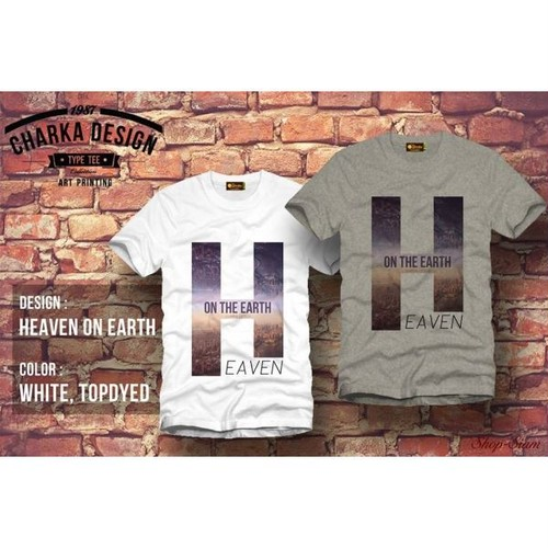Heaven on earth Art Printing T-Shirts