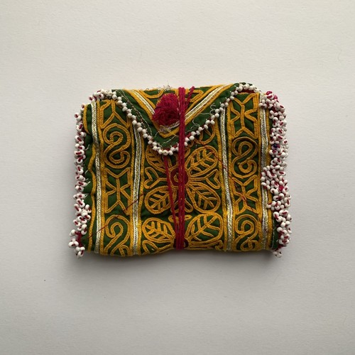 Vintage Pouch _07(アフガン ヴィンテージ 手刺繍ポーチ/財布)