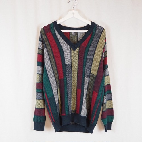Cotton&Acrylic Knit Pullover