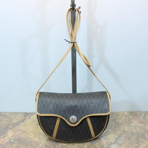 .Christian Dior LOGO SHOULDER BAG MADE IN FRANCE/クリスチャンディオールロゴショルダーバッグ 2000000033136