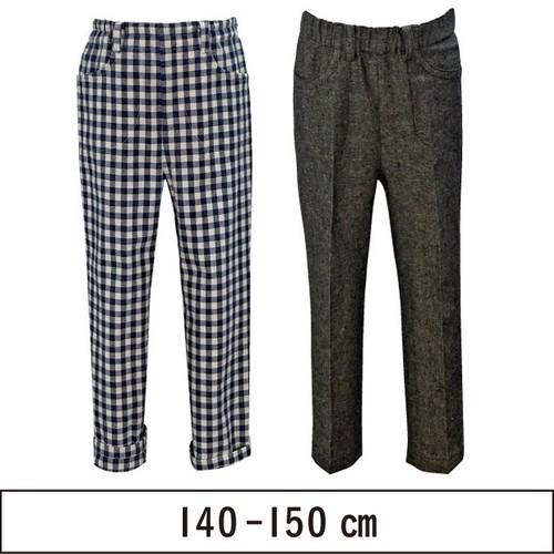 ウエストゴムロングパンツ 140-150