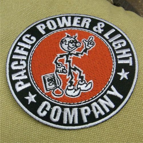 Racing Wappen Reddy Kilowatt