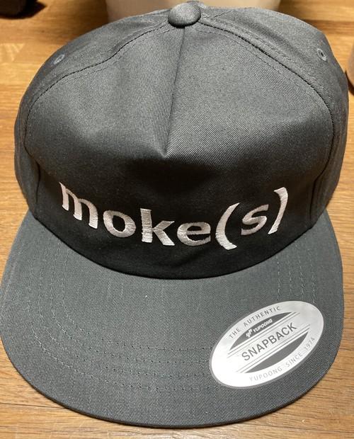 moke(s)キャップ(チャコールグレー)