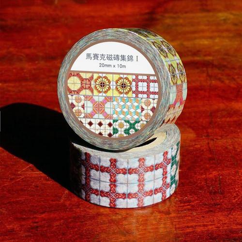 馬賽克磁磚集錦 Ⅰ (マスキングテープ)
