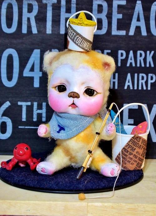 ぶちゃ猫 トト君。