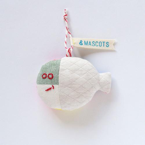 """& MASCOTS """" FISH_white 01"""""""