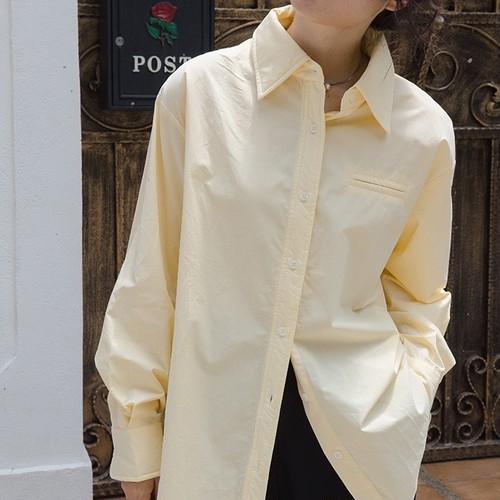 ロングボタンシャツ ・2826