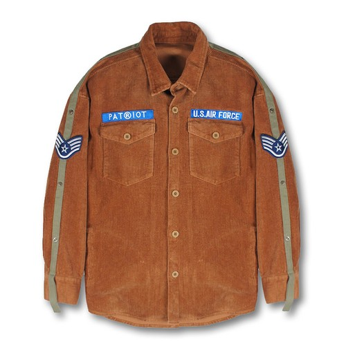 PATRIOT Palm Springs Corduroy Shirts BROWN