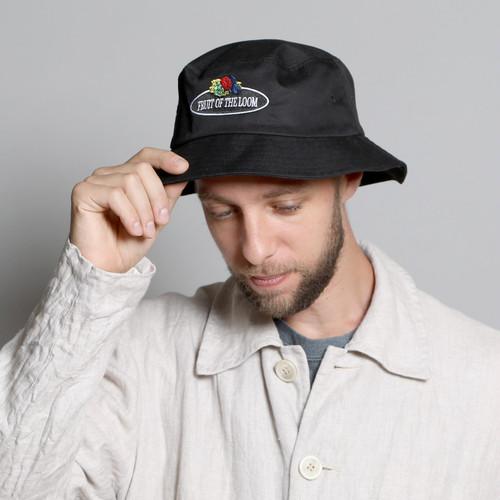 14573600【FRUIT OF THE LOOM/フルーツオブザルーム】SHELTECH BUCKET HAT/シェルテックバケットハット