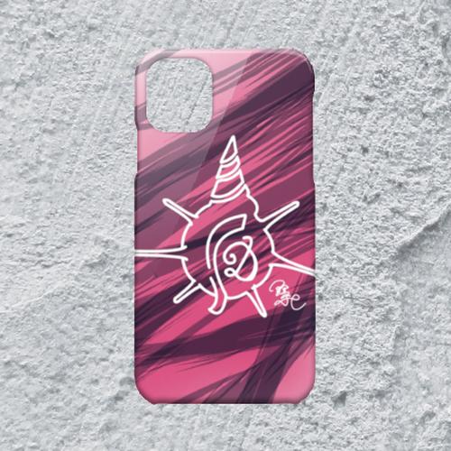 【iPhone11対応】D-Logoハードケースホワイト*おしゃれデザイン