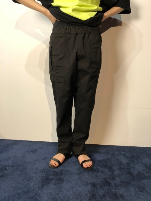 【20AW】bassike ベイシーク/ Slouchy pull on pants