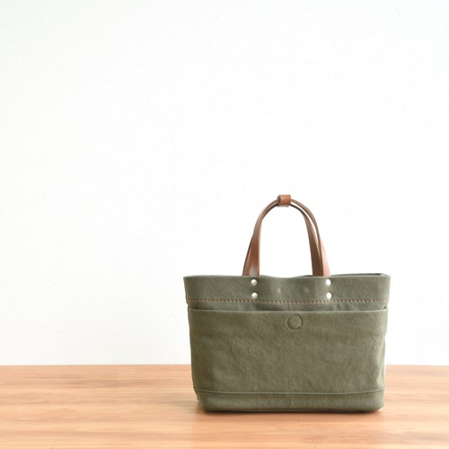 CANVAS MAGAZINE TOTE SS / ARMY