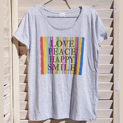 wakuwaku holidayオリジナルメッセージロゴTシャツ(グレー)