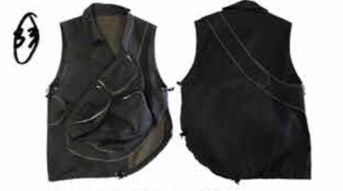 PER GOTESSON CROSS BODY BAG VEST