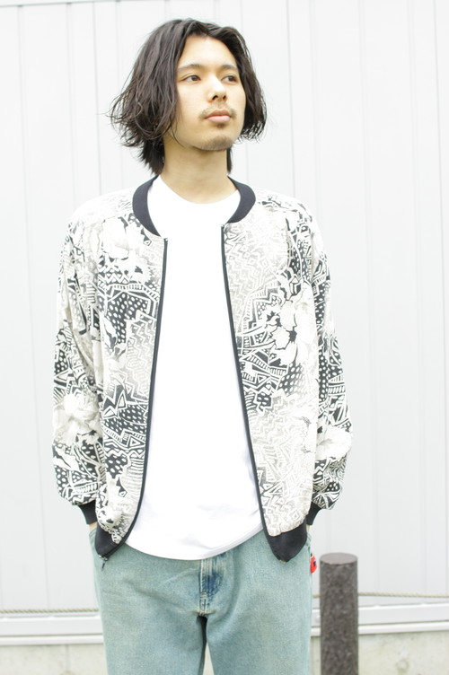 Around Print Light Blouson