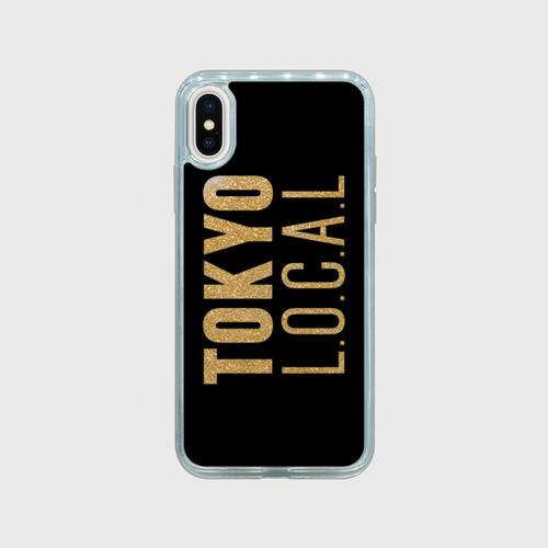グリッターiPhoneケース TOKYO L.O.C.A.L typeC