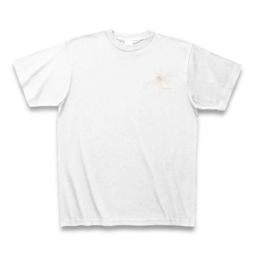 マンサク フラワーイラストTシャツ ワンポイント