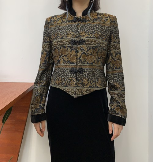 JESSICA HOWARD rayon  china short jacket【6】