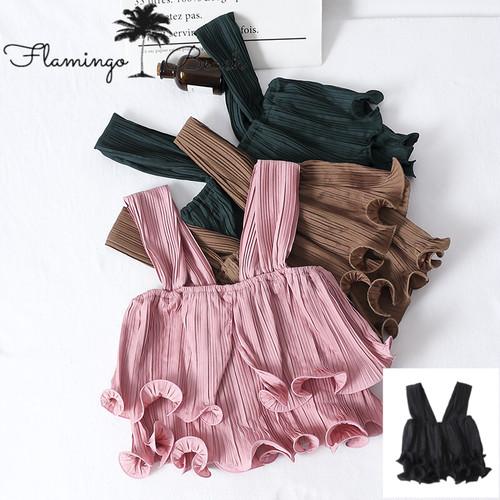 【FlamingoBeach】frill camisole