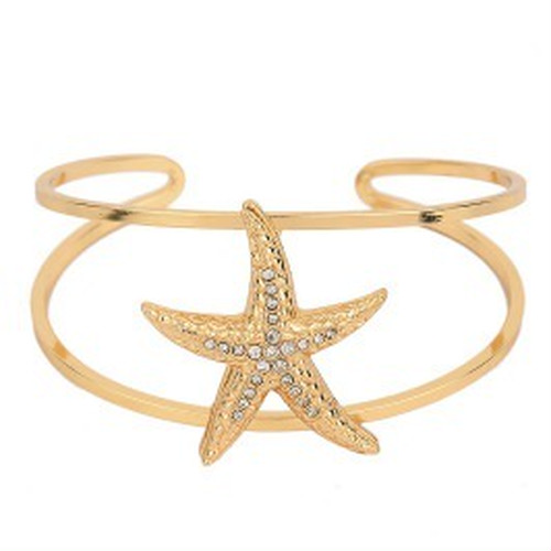 Big STARFISH with wire Bangle (FB0796)