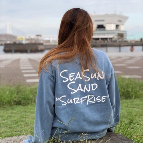 【予約:10月中旬発送】SeaSunSand Sweat - Vintage Blue