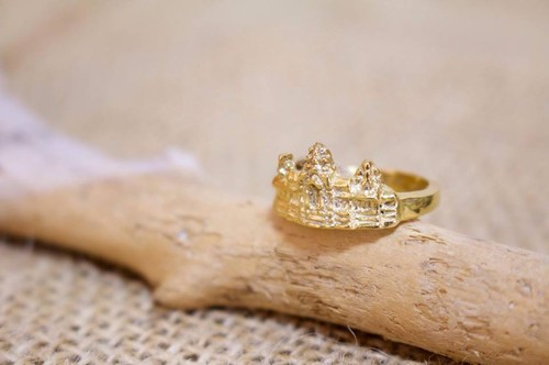 Angkor Wat Ring (gold)