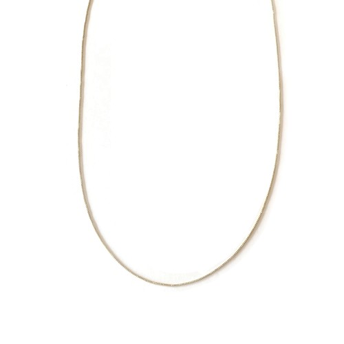 【GF1-57】18inch gold filled chain necklace