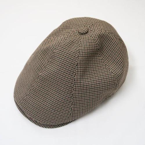 GUNCLUB CHECK HUNTING CAP Beige/Black