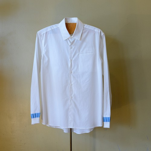 DIGAWEL BOTH SLEEVES RIB SHIRTS