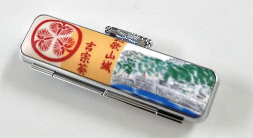 和歌山城と吉宗葵2 家紋ケース 12mm丸用~15mm丸用