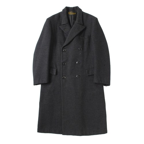 ''Conchon-Quinette'' double breasted coat