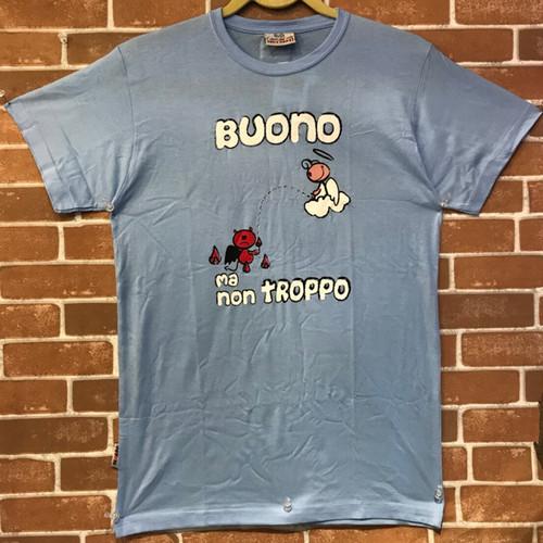 Item131 イタリア シチリア島から来た ファミリーでお揃いのTシャツ Buona ma non troppo ジュニア用
