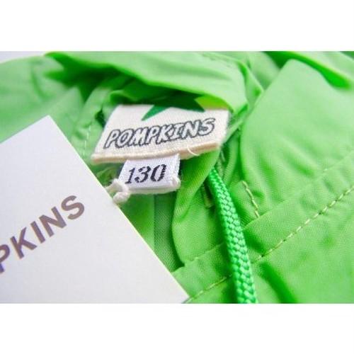 カエルレインコート キッズ130cmグリーン ポプキンズ s3-h164