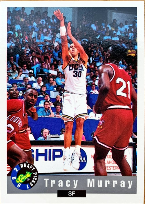UCLAカード 92-93CLASSIC Tracy Murray #41