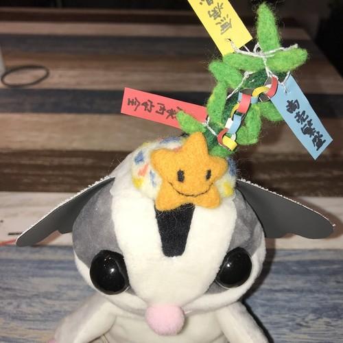 七夕飾りの帽子