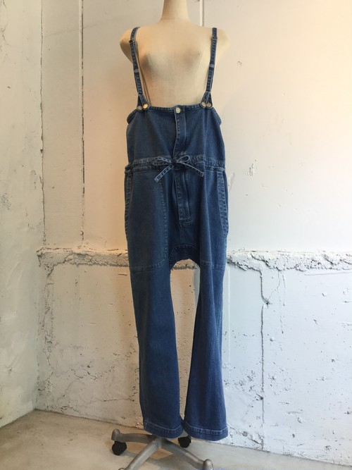 JULIEN DAVID Dungarees Pants (BIO STORE BLEACH)