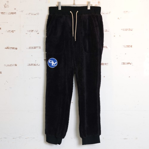 FLEECE PANTS (BLACK) / GAVIAL
