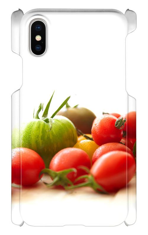 スマホケース 健康野菜 トマト君④ IphoneX