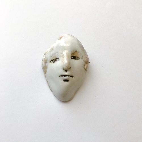 brooch「FACE」 #004