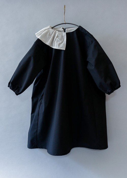 《michirico 2019AW》Dress / black / L・XL