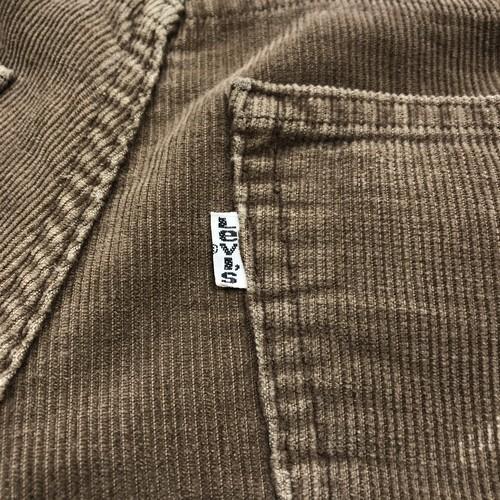 【Levi's】 Corduroy Flare Pants