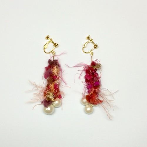 fuzzy  earring